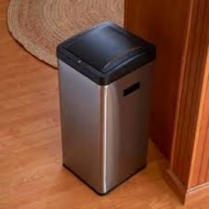 what is the Touch-less garbage can